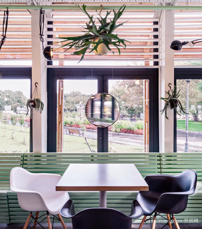 突出风格美式大户型100平餐厅装修
