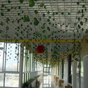 幼儿园简约风格白色吊顶装饰