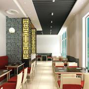 现代中式快餐店