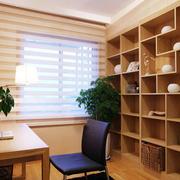 大户型宜家风格书房设计装修效果图