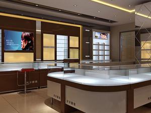现代简约风格眼镜店装修效果图设计
