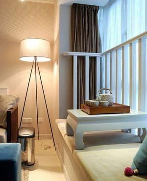 复式楼欧式简约风格飘窗小型榻榻米装饰