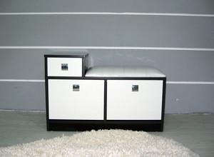 二居室自然风格鞋柜装修效果图片