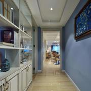 地中海简约三室两厅置物架装饰