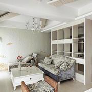 小户型简约风格跃层欧式客厅装修效果图