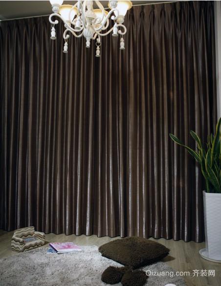 精美豪华的大户型欧式窗帘装修效果图