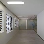 现代简约风格眼镜店吊顶装饰