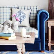 小户型地中海风格客厅沙发装饰