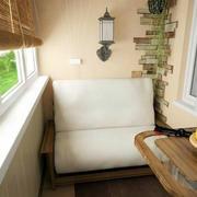 90平米小户型北欧简约风格阳台装修效果图