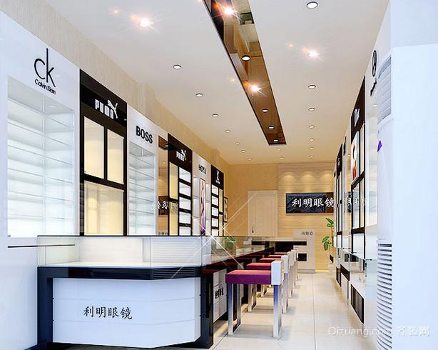 50平米现代简约风格时尚眼镜店装饰图