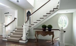 三居室楼梯设计装修效果图