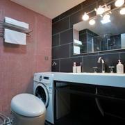 小户型后现代风格家装卫生间装修效果图
