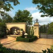 简欧式大型庭院