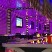 90平米现代简约风格时尚酒吧设计效果图