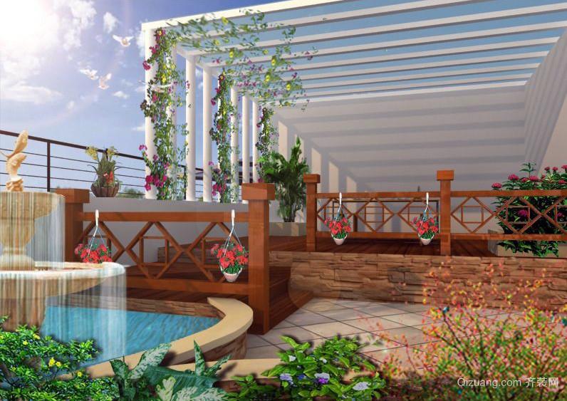 大型别墅温馨阳光房装修效果图