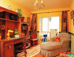 别墅简朴风格书房设计装修效果图