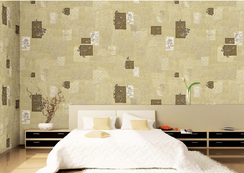 简欧式大客厅液体墙纸装修效果图片大全