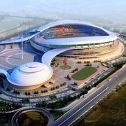 极具现代特色鸟巢式大型体育馆装修效果图