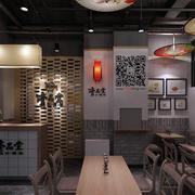 快餐店墙面装饰图
