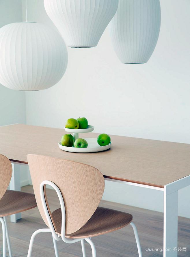 现代2居欧式风格小户型别墅餐厅装修效果图