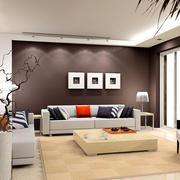 大户型淳朴风格室内设计效果图