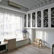 家装书房飘窗榻榻米