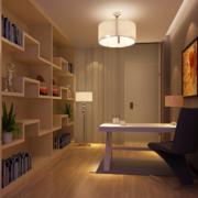 精致小户型小书房装修效果图鉴赏