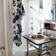 10平米北欧风格清新小户型卫生间装修效果图