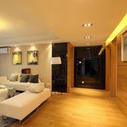 110平米家装简约客厅过道吊顶效果图
