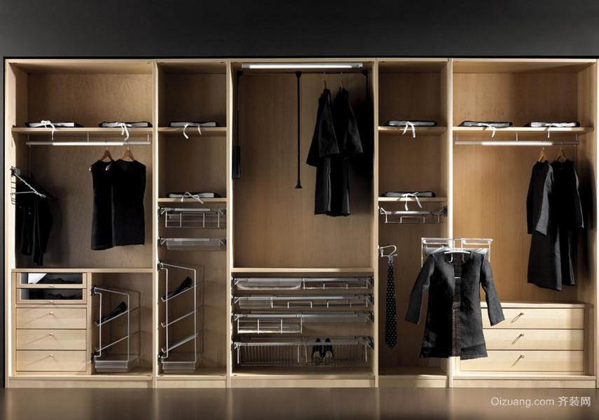 精美的欧式大户型整体衣柜装修效果图