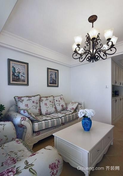 独创型单身公寓欧式风格客厅装修效果图