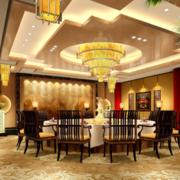 精美的大户型欧式餐厅装修效果图鉴赏