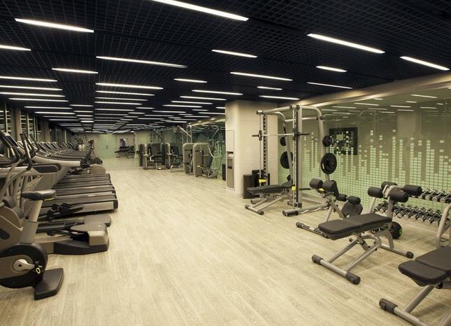 现代简约时尚风格健身房装修效果图