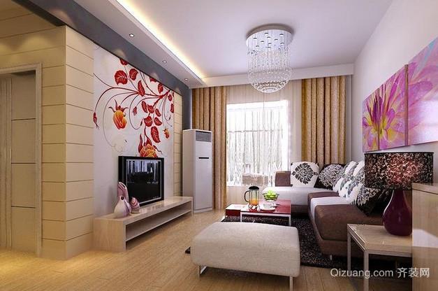 118平米简洁型客厅装修效果图欣赏