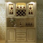 现代别墅型欧式酒柜装修效果图鉴赏
