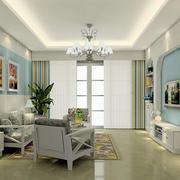 家居明亮宽敞客厅