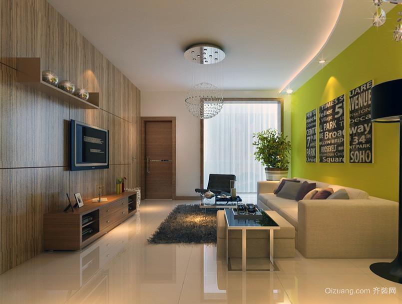 都市大户型沙发背景墙装修效果图