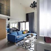 地中海唯美小户型新款大众型客厅装修图示