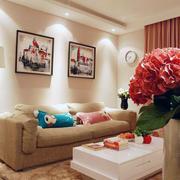 小户型宜家小众型客厅装修图的展示