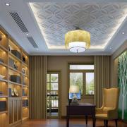 书房设计吊顶图