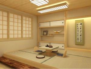 唯美舒适大户型日式榻榻米装修效果图