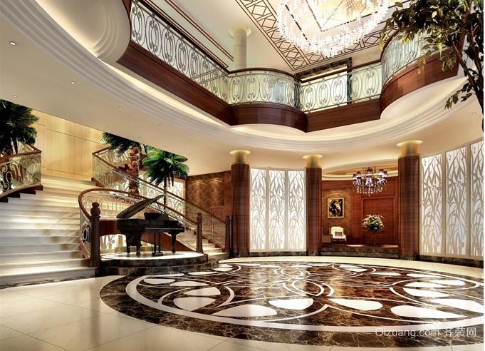 现代欧式私人别墅设计装修效果图