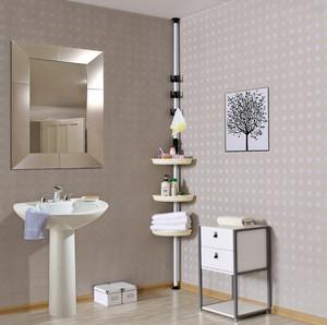 前卫小型浴室置物架装修效果图