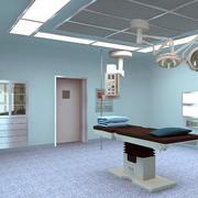 手术室设计背景墙图