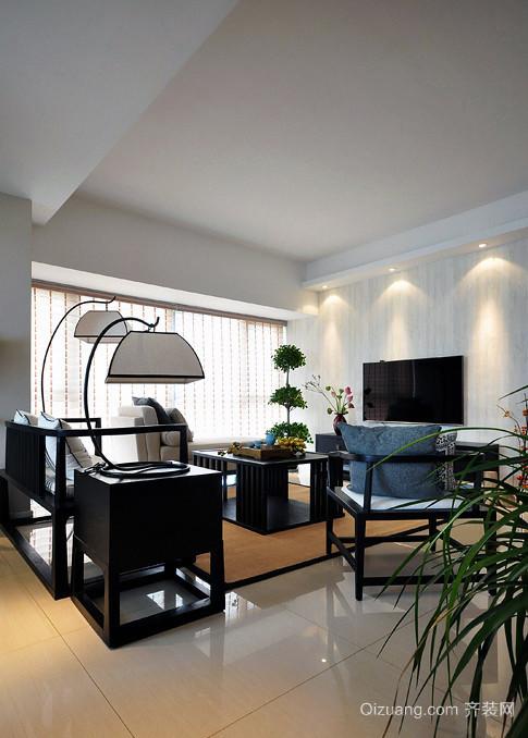大户型欧式风格现代格局感客厅装修效果图