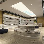 时尚鞋店展示柜欣赏