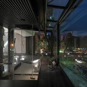 家装别墅夜景欣赏