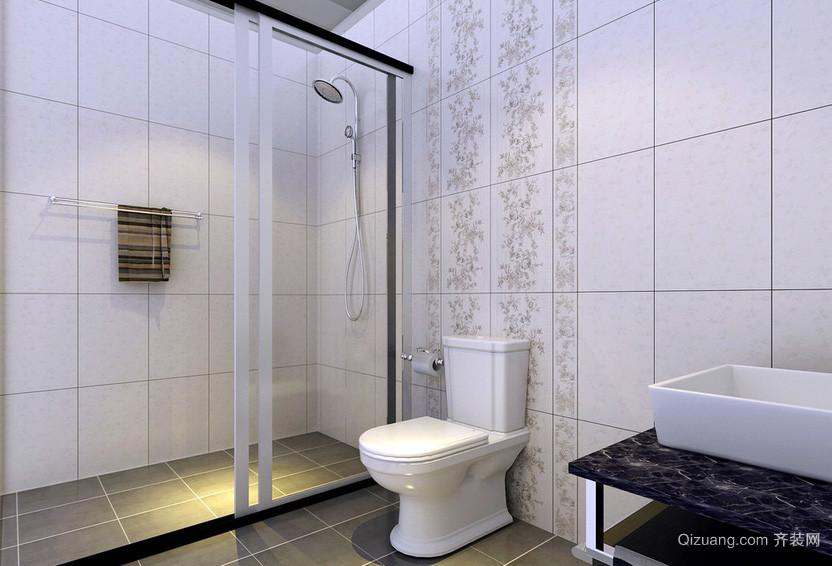 现代简约家居小卫生间装修效果图