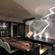 家装客厅书架欣赏