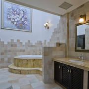 别墅简欧奢华风格浴室装修效果图